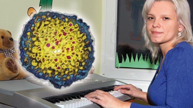 Alena dostala v transfuzi zákeřný virus.