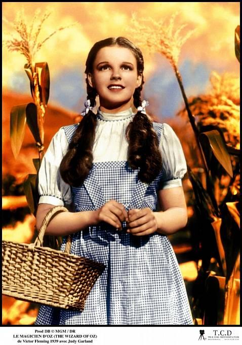 Jako Dorotka vČaroději ze země Oz (1939) okouzlila celou Ameriku.