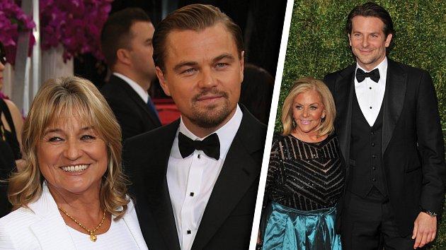 Leonardo DiCaprio a Irmelin Indenbirkenová, Bradley Cooper a Gloria Campano