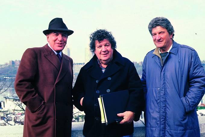 Bratři Savalasové, zleva Telly, George aGus.