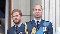 Princ Harry a princ William se setkají po mnoha měsících na pohřbu svého dědečka.