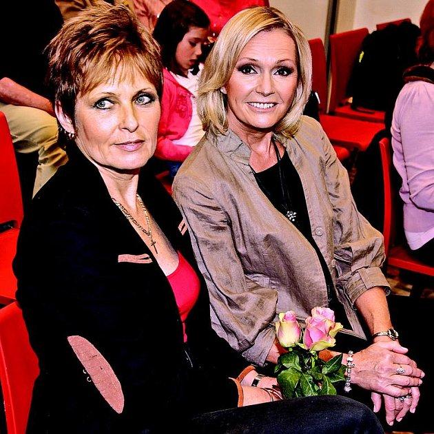Olga Matušková a Helena Vondráčková
