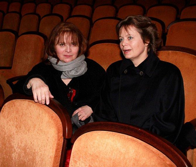 Sestry Libuše a Miroslava Šafránkovi měly již od útlého dětství ke kultuře velmi blízko.