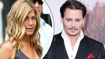 Jennifer Aniston a Johnny Depp