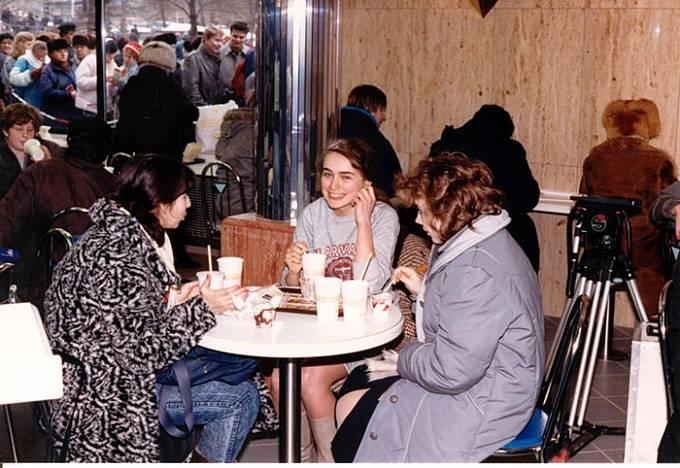 První den se v restauraci vystřídalo na 30 000 zákazníků