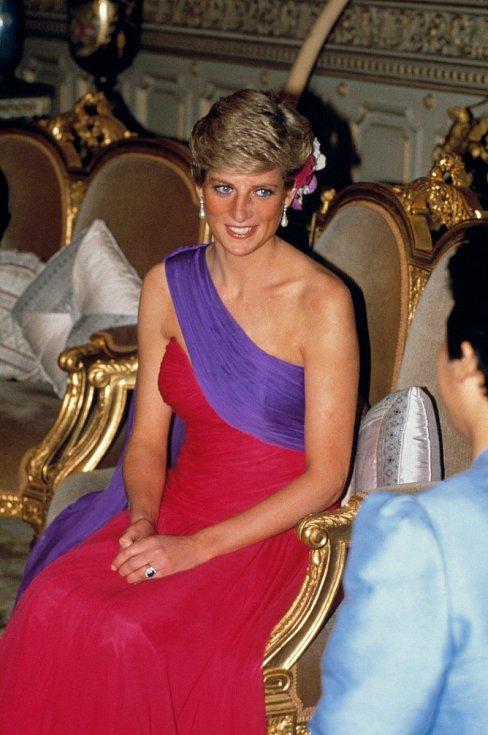 Diana byla považována za módní ikonu. Její styl dávají za příklad módní magazíny dodnes.