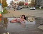 Taková obyčejná ruská modelka.