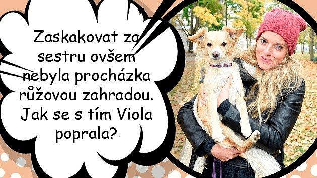Sandra Černodrinská jde na mateřskou. Zaskakovat za ni bude sestra.
