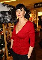 Daniela Šinkorová - dříve měla normální postavu.