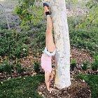 Vzhůru nohama je svět hezčí, tvrdí Britney.