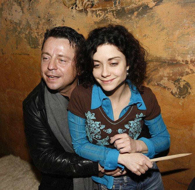 S Lucií Šoralovou měl zpěvák velmi přátelské vztahy.