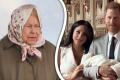 Meghan Markle a královna Alžběta