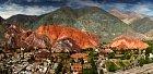 To jsou panoramata! Vesnička Purmamarca má neopakovatelné kouzlo.