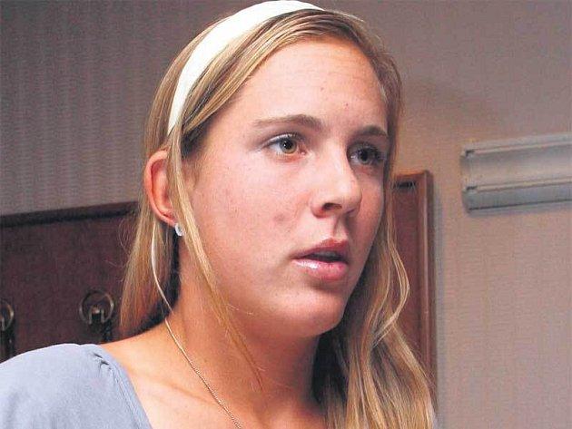 Nicole Vaidišová, hlavní česká zbraň na Slovensko.