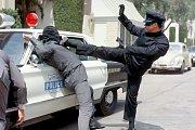 Bruce (vpravo) vseriálu The Green Hornet (1966)