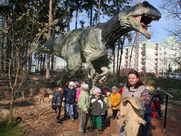 Možnost prohlédnout si nový exponát využily i děti z jedné plzeňské mateřské školy.
