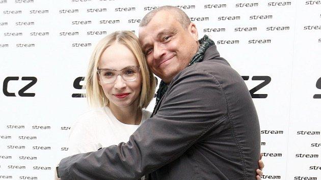 Jana Plodková a Roman Vaněk