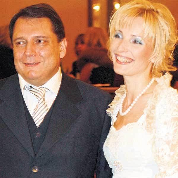 Šéf ČSSD Jiří Paroubek s manželkou Petrou