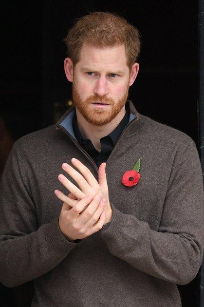 Princ Harry možná právě přemýšlí, jak zvládne dalšího potomka…