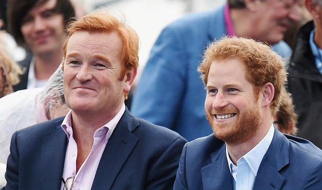 Princ Harry a Mark Dyer