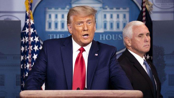 S covidem se musel léčit i bývalý prezident USA Donald Trump.