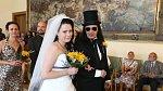 Aleš Brichta si svoji manželku Joannu vzal před pěti lety.