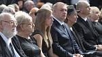 František Nedvěd, pohřeb