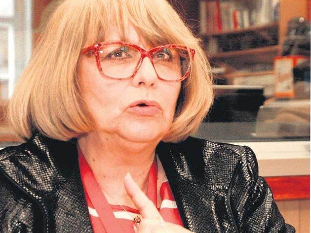 Naďa Urbánková se na práci vjihlavském radiu Region moc těší.