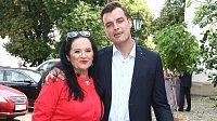 Hana Gregorová a Ondřejem Koptíkem