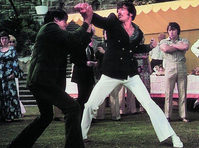 Vhongkongské produkci natočil film Muž zHongkongu (1975).
