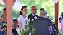 Herečka byla vdaná za podnikatele Michala Kožíška. Spolu mají dvojčata.