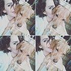Gábina Lašková se svým psím miláčkem