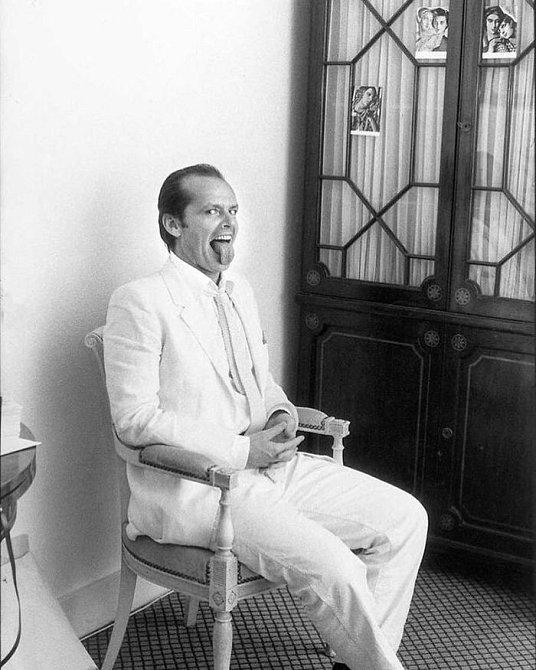 Jack Nicholson, klasicky šílený, 1981.