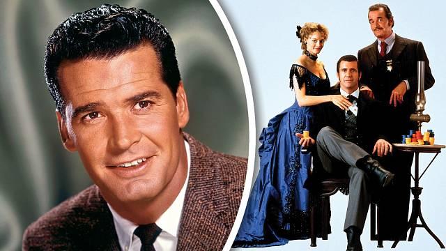 Vkomedii Maverick (1994) hrál hlavní roli Mel Gibson. James ztvárnil jeho otce. Muziku tvrdila Jodie Fosterová.