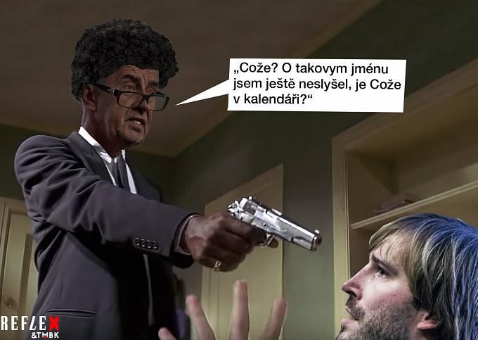 Výslech Adama Vojtěcha ala Tarantino!