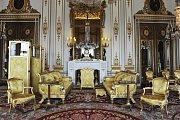 """White Drawing Room"" v Buckinghamském paláci"