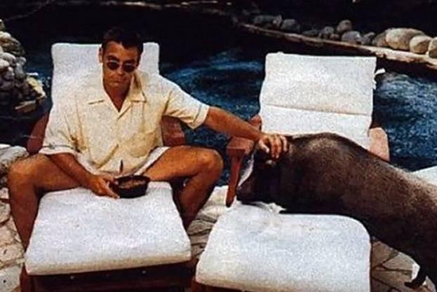 George Clooney a jeho prase Max jsou známá firma