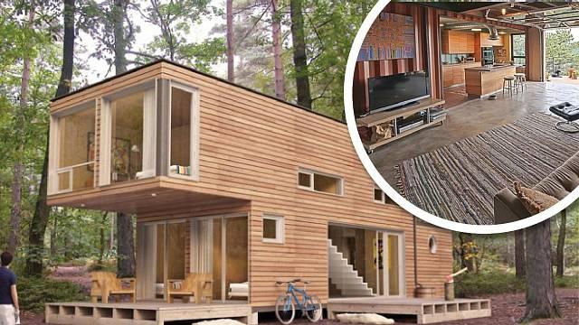 Proč si místo chaty za milion nepořídit za mnohem méně něco podobného?
