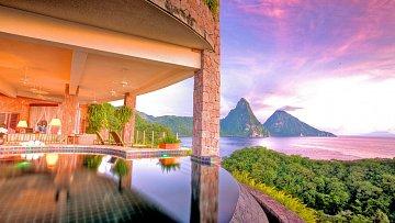 Ostrov St. Lucia - Jede Mountain
