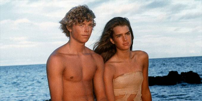 S Brooke Shields v Modré laguně