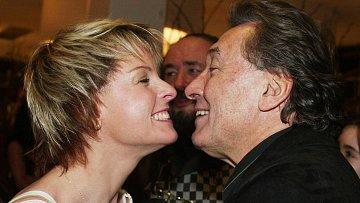 Iveta Bartošová a Karel Gott
