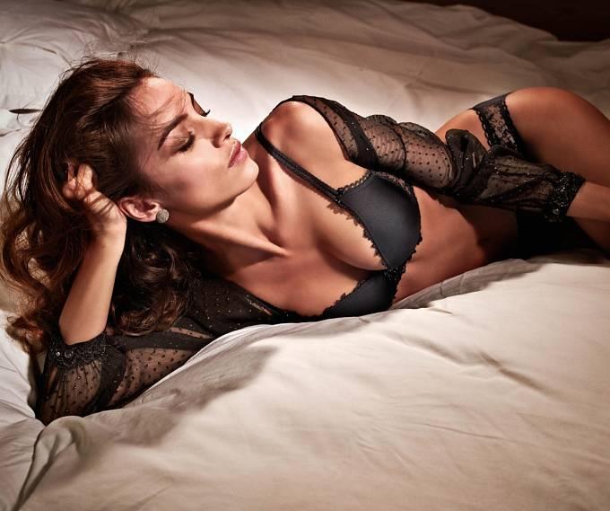 Chloe Gosselin, současná Davidova snoubenka, je samozřejmě rovněž modelka.
