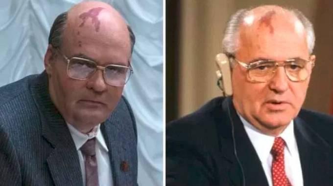 David Dencik v roli bývalého Prezidenta Sovětského svazu Mikhaila Gorbacheva