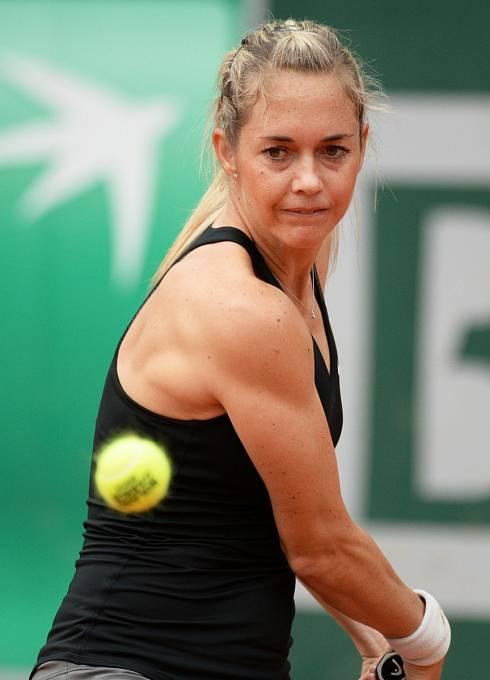 Klára Koukalová patří k našim nejlepším tenistkám.