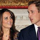 Princ William a jeho snoubenka Kate