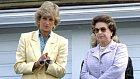 Princezna Diana a královna Alžběta II.