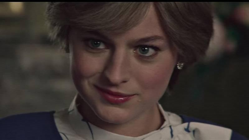 populární seriál The Crown. V jeho nejnověji zveřejněné, čtvrté sérií do děje vstupuje Lady Diana Spencerová. Děj se točí kolem nešťastného manželství Diany a Charlese. Tvůrci seriálu se snažili být hodnověrní, projevilo se to třeba na šatníku seriálové D