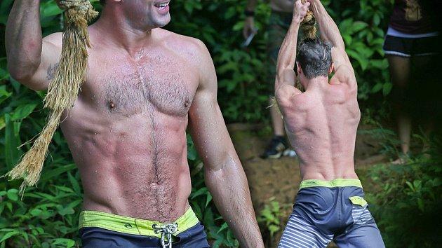 Oblíbený herec předvedl neskutečně svalnaté tělo!
