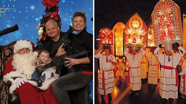 Svět je plný podivných vánočních zvyků...