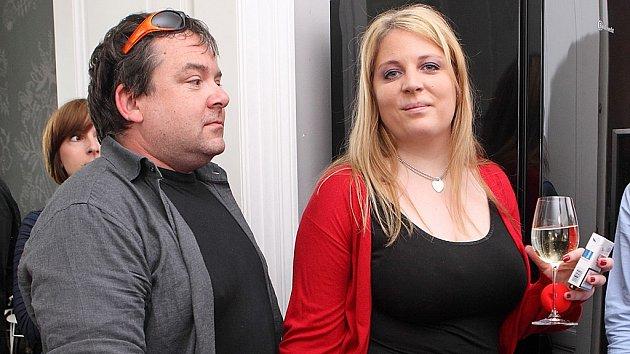 Petra Hapková s manželem Dušanem Moravcem